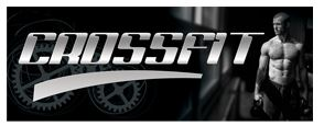 Crossfit black large banner sign 3x8ft