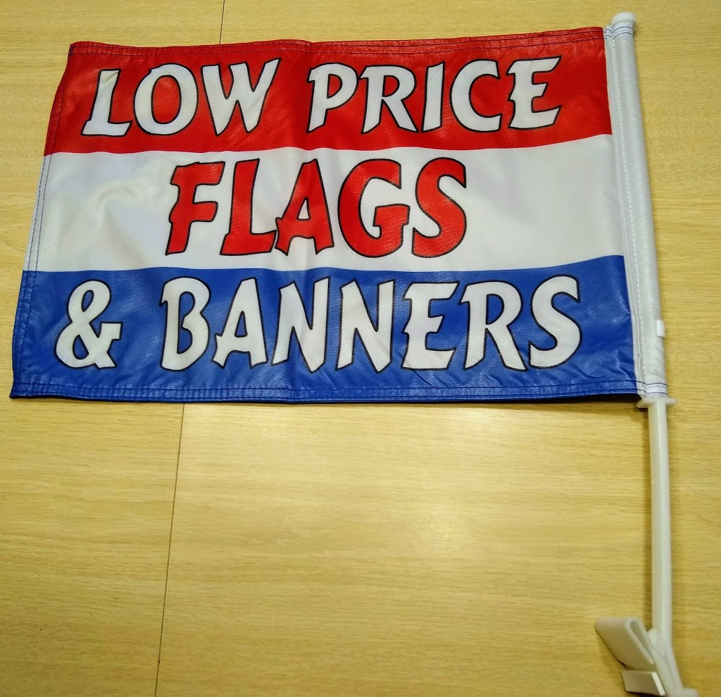 Custom made car flags with your design DOUBLE SIDED