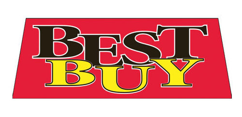 BEST BUY Car Dealer Windshield banner sign