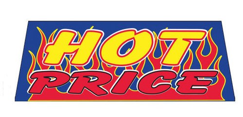 HOT PRICE Car Dealer Windshield banner sign