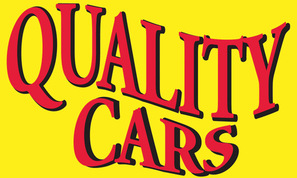 QUALITY CARS yellow flag banner 3x5ft