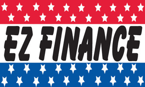EZ (easy) FINANCE flag banner 3x5ft