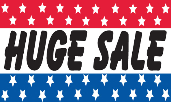 HUGE SALE flag banner 3x5ft