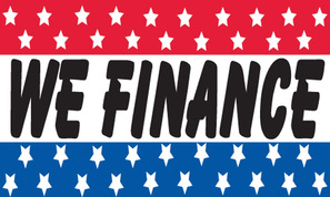 WE FINANCE flag banner 3x5ft