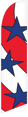 USA swooper feather banner flag sign