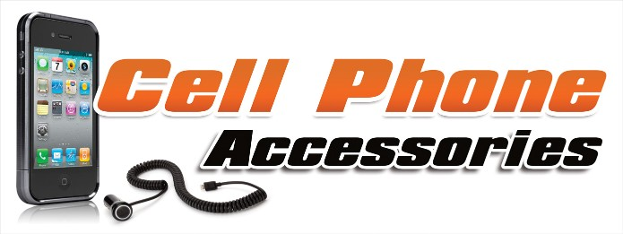 Cell Phone Accessories large 3x8ft full color banner sign