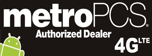 MetroPCS 4G LTE large 3x8ft full color banner sign