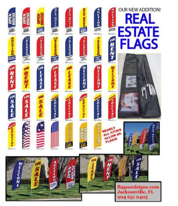 Real Estate Flags NEW!