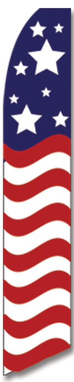 USA SWOOPER FEATHER FLAG SIGN FREE SHIPPING