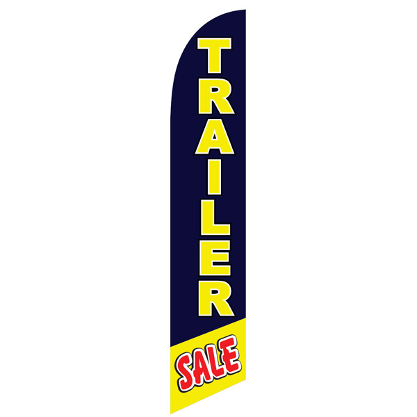 TRAILER sale service swooper feather banner flag