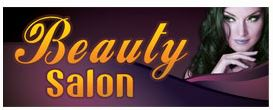 BEAUTY SALON banner sign 3x8ft