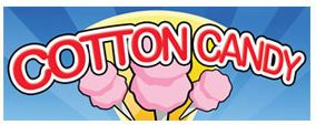 COTTON CANDY BANNER sign