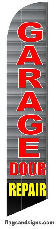 GARAGE door repair custom banner sign flag