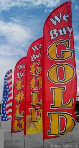 WE BUY GOLD / SILVER FLAGS