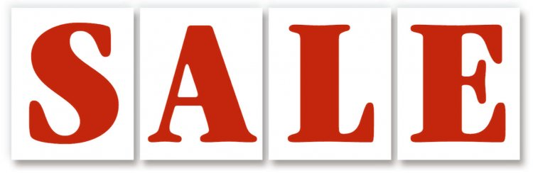 JUMBO SALE hood sign kit of 4