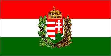 HUNGARY country flag banner 3x5ft Cimer