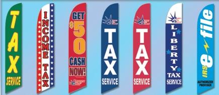 Income Tax Service Flags