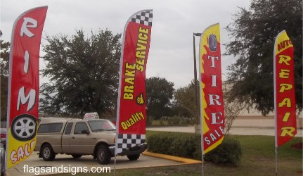 Auto Service Flags