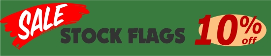 SALE stock swooper flags 10% OFF