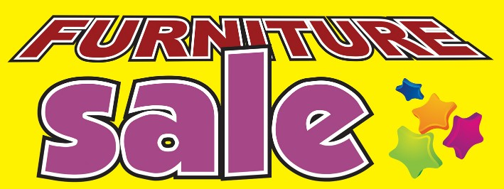 furniture sale sign. Furniture Sale Large 3x8ft Color Banner Sign Yellow Stars A