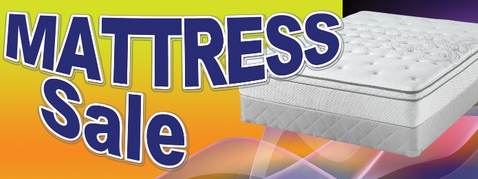 Furniture mattress Swooper Feather Flags Signs Banners